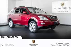 lexus red rx 350 for sale 2009 lexus rx350 for sale 2013329 hemmings motor news