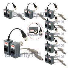 isecurity101 8 pairs bnc to rj45 cat5 cable video power balun