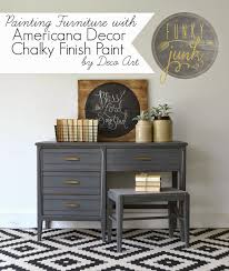 Funky Junk Painting Furniture with Deco Art Chalky Finish Paint
