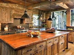 cuisines rustiques bois chalet en bois interieur un intacrieur bois conjuguac dans une