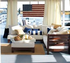 American Flag Living Room by Painted American Flag Wall Art At Pottery Barn Nautical Decor
