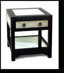 sideboard mirrored nightstands goodnightstands intended for black