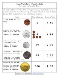 money worksheets for 2nd grade money worksheets canadian coins