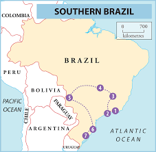 South America Map With Capitals by Your South America Itinerary 7 Ideas For Exploring The Continent