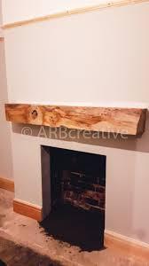 feature fireplace oak beam mantle installations arbcreative