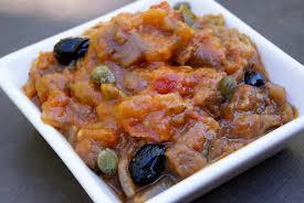cuisine sicilienne caponata sicilienne la p tite cuisine de pauline