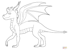 spyro dragon coloring free printable coloring pages