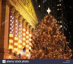 when is the christmas tree lighting in nyc 2017 christmas tree lights wall street stock exchange building downtown