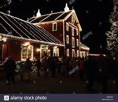 clifton ohio christmas lights december 18 2015 christmas lights illuminate the shops at the
