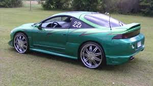 modified mitsubishi eclipse 1995 mitsubishi eclipse youtube