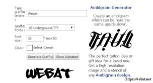 Ambigram Maker Free Best Ambigram Generators How To Guide Web