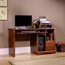 Computer Desk Lock by Engaging Cool Computer Table Design With Brown Wooden Varnished