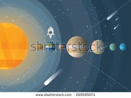 abstract planet wallpapers flat planet vectors download free vector art stock graphics