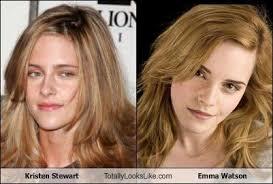 emma watson looks like harry potter vs twilight images kristen stewart looks totally like