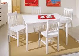 table de cuisine et chaise moderne chaise concept de ensemble table 4 chaises blanc
