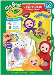 crayola teletubbies colour shape amazon uk toys