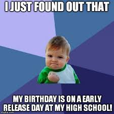 December Birthday Meme - so my 16th birthday is coming up in december and its on a school