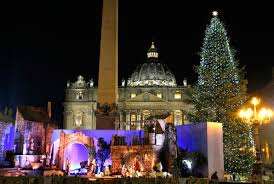 vatican nativity scene tree to be unveiled early for year of