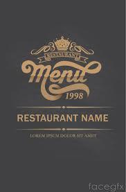 100 free download menu templates 100 restaurant menu template
