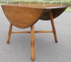 oval drop leaf table sold oval dropleaf elm dining table by ercol