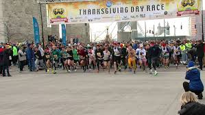 runners ready for 108th thanksgiving day race downtown wkrc