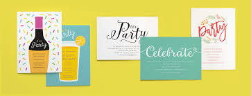 16 fabulous new party invites with matching unique party ideas