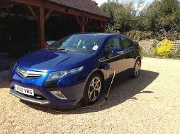vauxhall blue vauxhall ampera review
