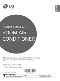 lg owners manual air conditioning hvac