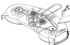 mtd mower deck belt diagram 100 images how to replace a deck