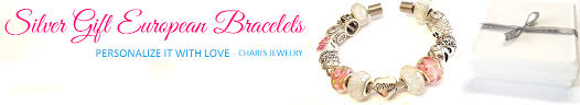 cheap affordable sterling silver european bead charm bracelets sa