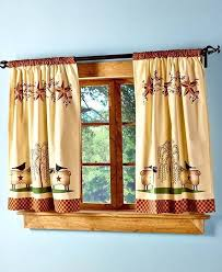 Country Style Kitchen Curtains by 28 Primitive Country Kitchen Curtains Country Curtain