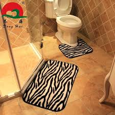 Area Rugs Sets Print Bath Mats Animal Print Bathroom Rug Sets Cheetah Print Area