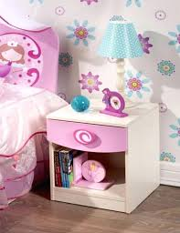 Girls Bedroom Table Lamps Side Table Childrens Bedside Table Pink Childrens Bedside Table