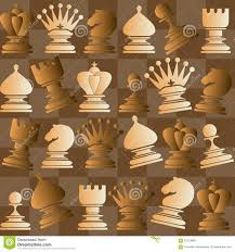 Chess Piece Designs by Vector Seamless Pattern With Chess Piece Stock Vector Image