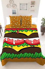 artistic duvet covers cool funky bed pillow shams standard and