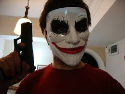 halloween joker face paint the
