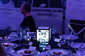 Photo Cubes Centerpieces by Blog U2014 Molly Neville