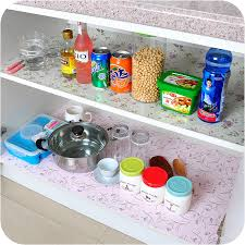 Kitchen Cabinet Drawer Liners by 200cm Flower Dots Sticker Shelf Cabinet Drawer Liner Kitchen