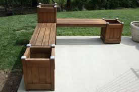 Wooden Potting Benches Planters Atlantic Outdoor Wood Potting Bench Planter Boxes