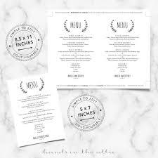 brunch wedding menu laurel wreath wedding brunch menu template wedding menu cards
