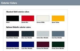 Bmw Interior Options Official Porsche Cayman S Exterior And Interior Color Charts