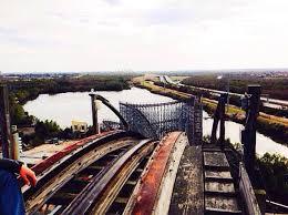 Nola Flags Six Flags New Orleans Louisiana Hurricane Katrina Hit New