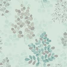 arthouse montana floral leaf pattern metallic vinyl wallpaper 889501