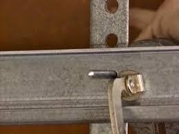 Installing Overhead Garage Door Installing A Garage Door How Tos Diy