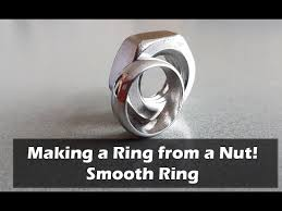 Make Wedding Ring by Make A Ring From A Nut Version 2 Smooth Ring 10 Steps With