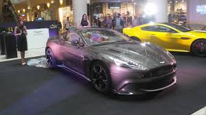 aston martin supercar 2017 aston martin ph launches aston martin vanquish s carmudi philippines