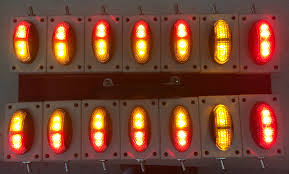 magnetic battery operated led lights battery operated oversize over dimension clearance marker light
