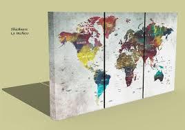 Wall Art World Map by World Map Map Wall Art Large World Map Push Pin Map Abstract World