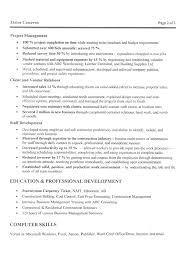 Manager Resume Template Microsoft Word Glamorous Construction Project Manager Resume 22 In Resume
