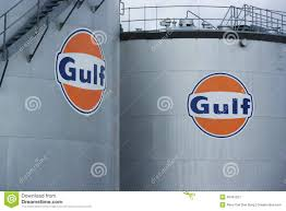 gulf oil logo gulf logo editorial photo image of flammable gulf gasoline